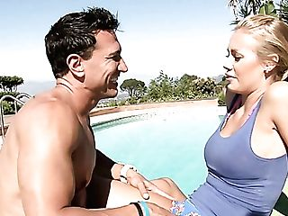 Summer Hook-up With A Ideal Big Jugged Blonde Sexpot Marco Banderas