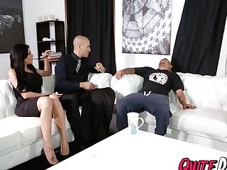 Buxom Jaclyn Taylor Getting Pounded By Her Big Dicked Butler