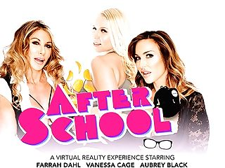 After School Featuring Aubrey Black, Farrah Dahl, And Vanessa Cell...