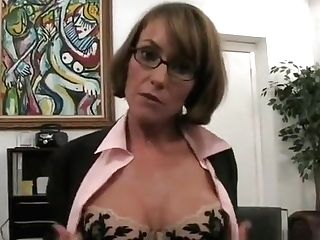 Taking On A Fattest Pecker With Her Face Fuck Hole Is Cougar Forte